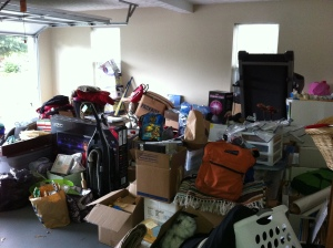 This is my garage...full of STUFF.