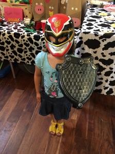 G in costume